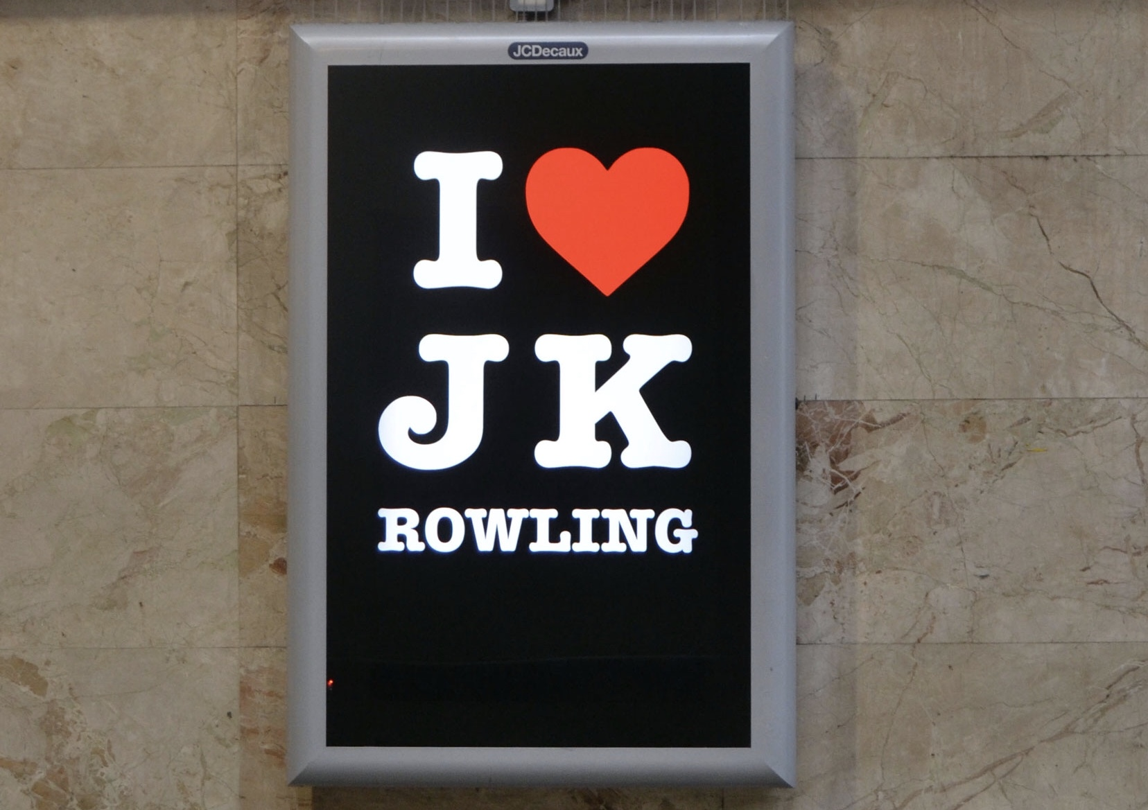 Rowling poster debacle shows just why hate plans so dangerous